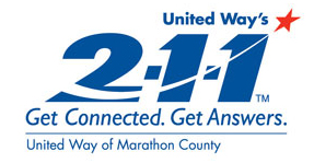 United Way 211 logo