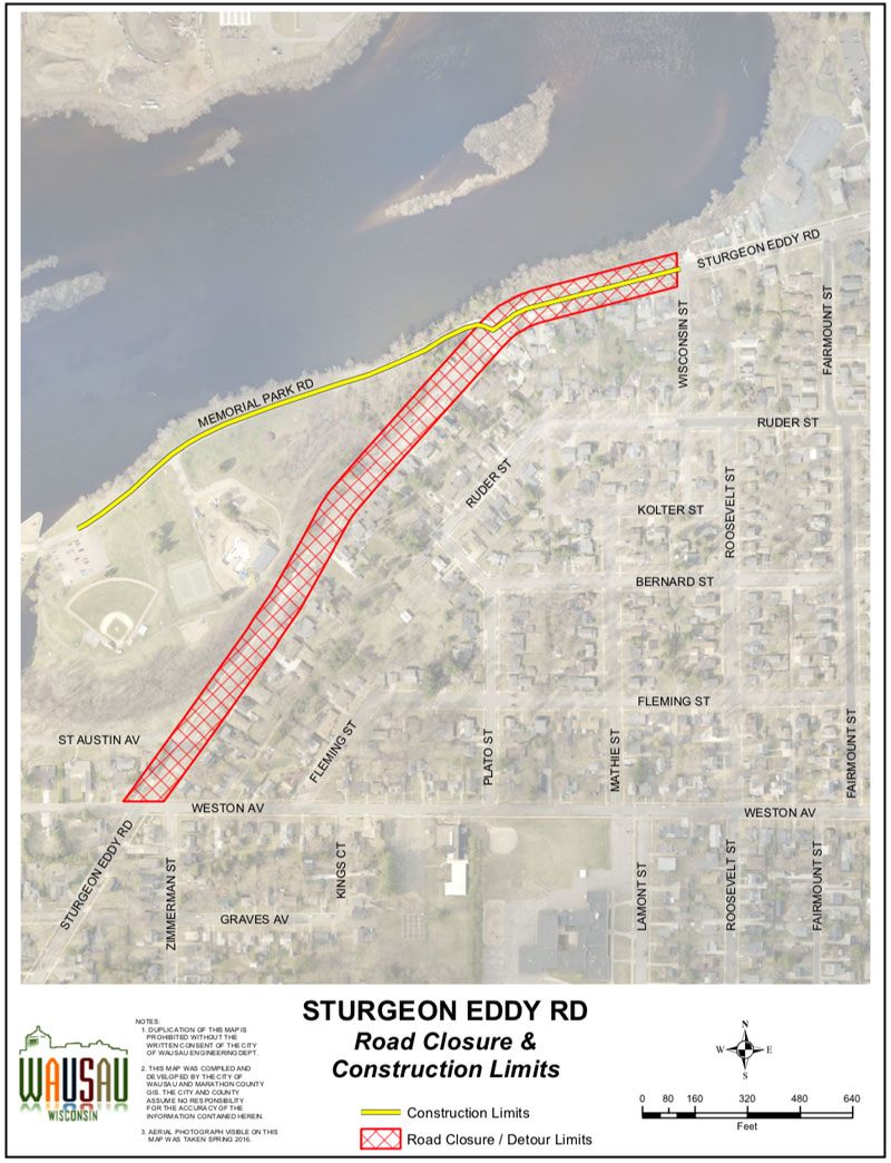 Sturgeon Eddy Closure October 2019
