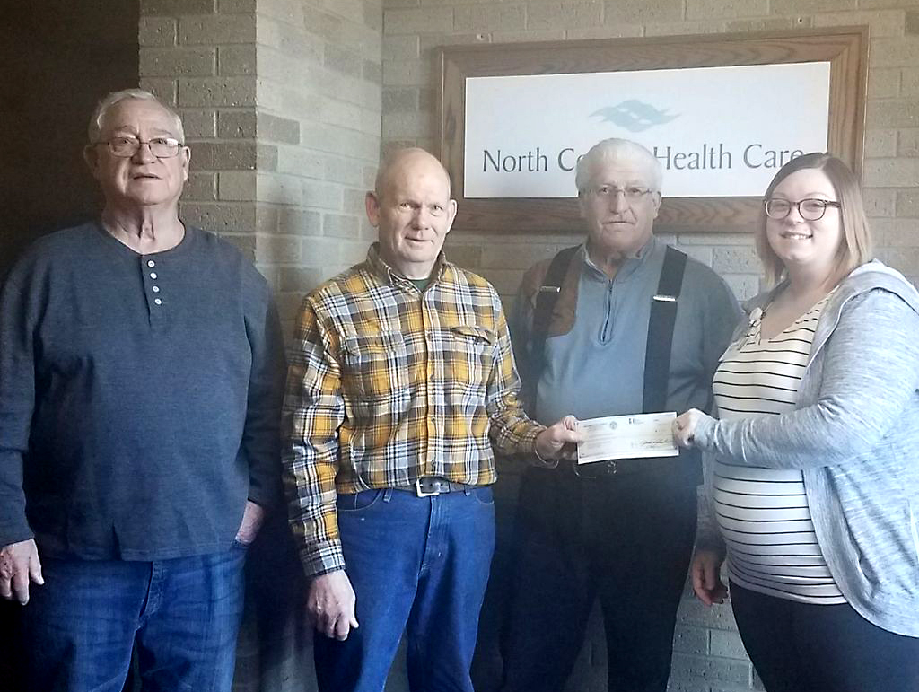 Antigo Knights of Columbus Donation to NCHC