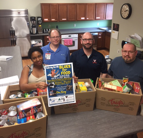 Community Corner Clubhouse Food Donations
