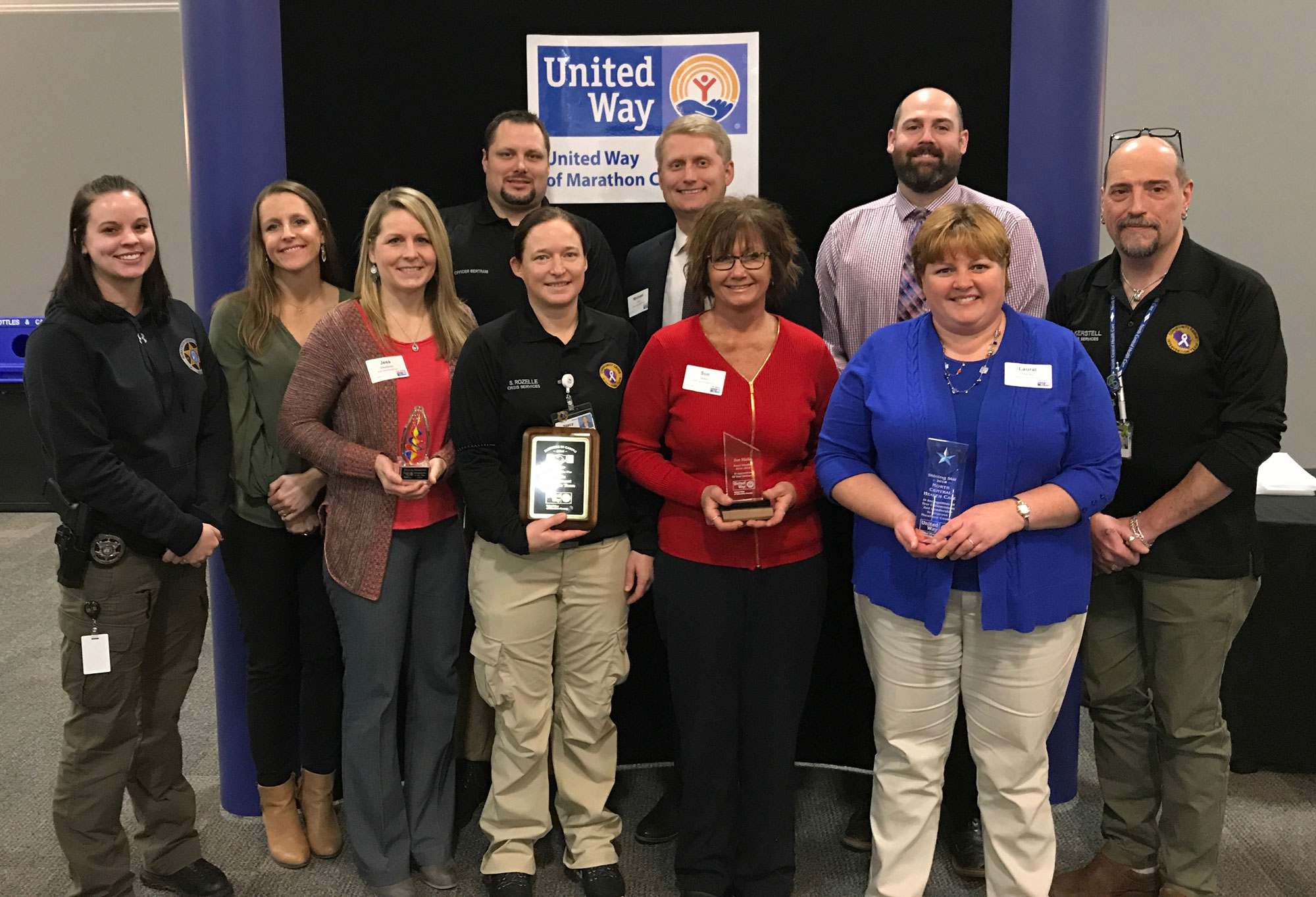 North Central Health Care and Staff Recognized at United Way Annual Luncheon