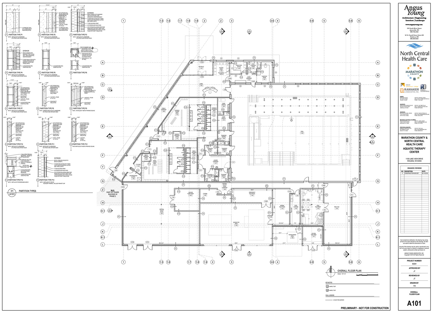 Aquatic Therapy Pool Preliminary Plans