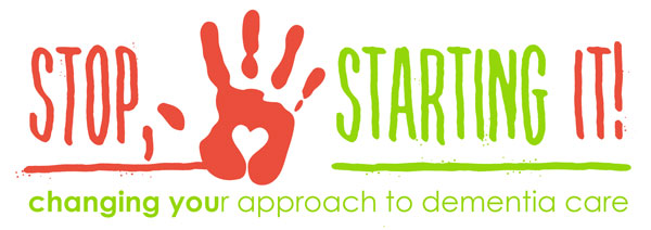 Stop, starting it logo banner