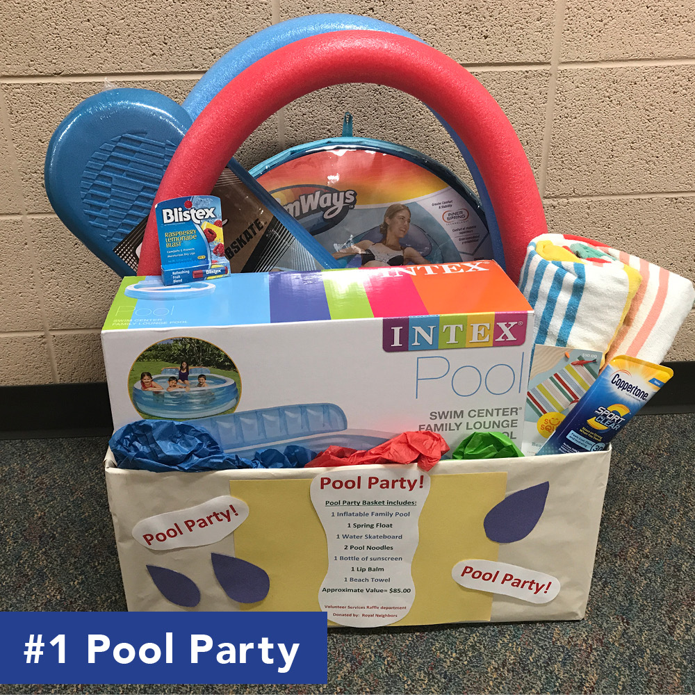pool party basket